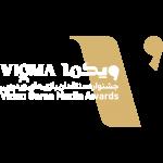 VIGMA Logo White Gold PNG